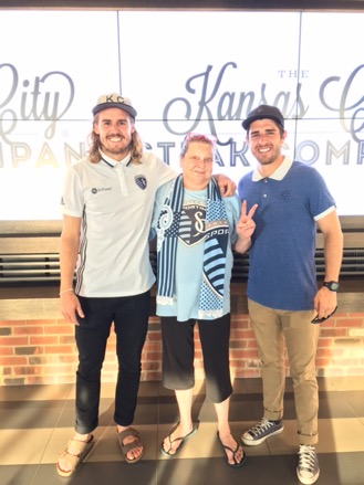 Sporting Kansas City Meat & Greet Sweepstakes Winner