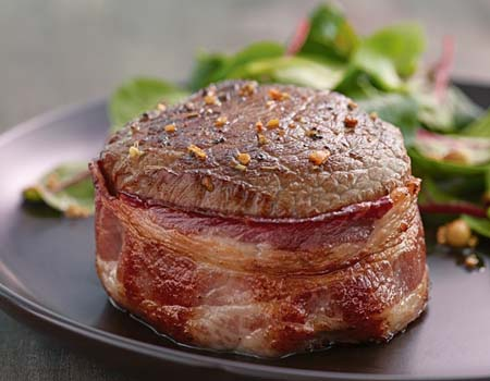 Meaty Monday: Bacon Wrapped Sirloins