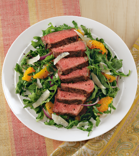 Steak Salad with Mustard Vinaigrette