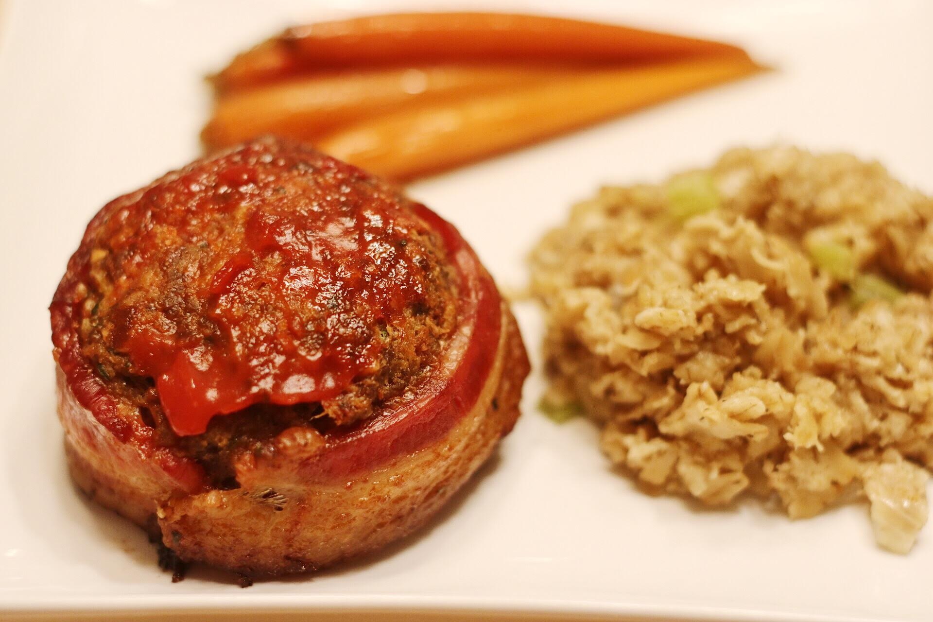 Bacon-Wrapped Smoked Meatloaf Recipe