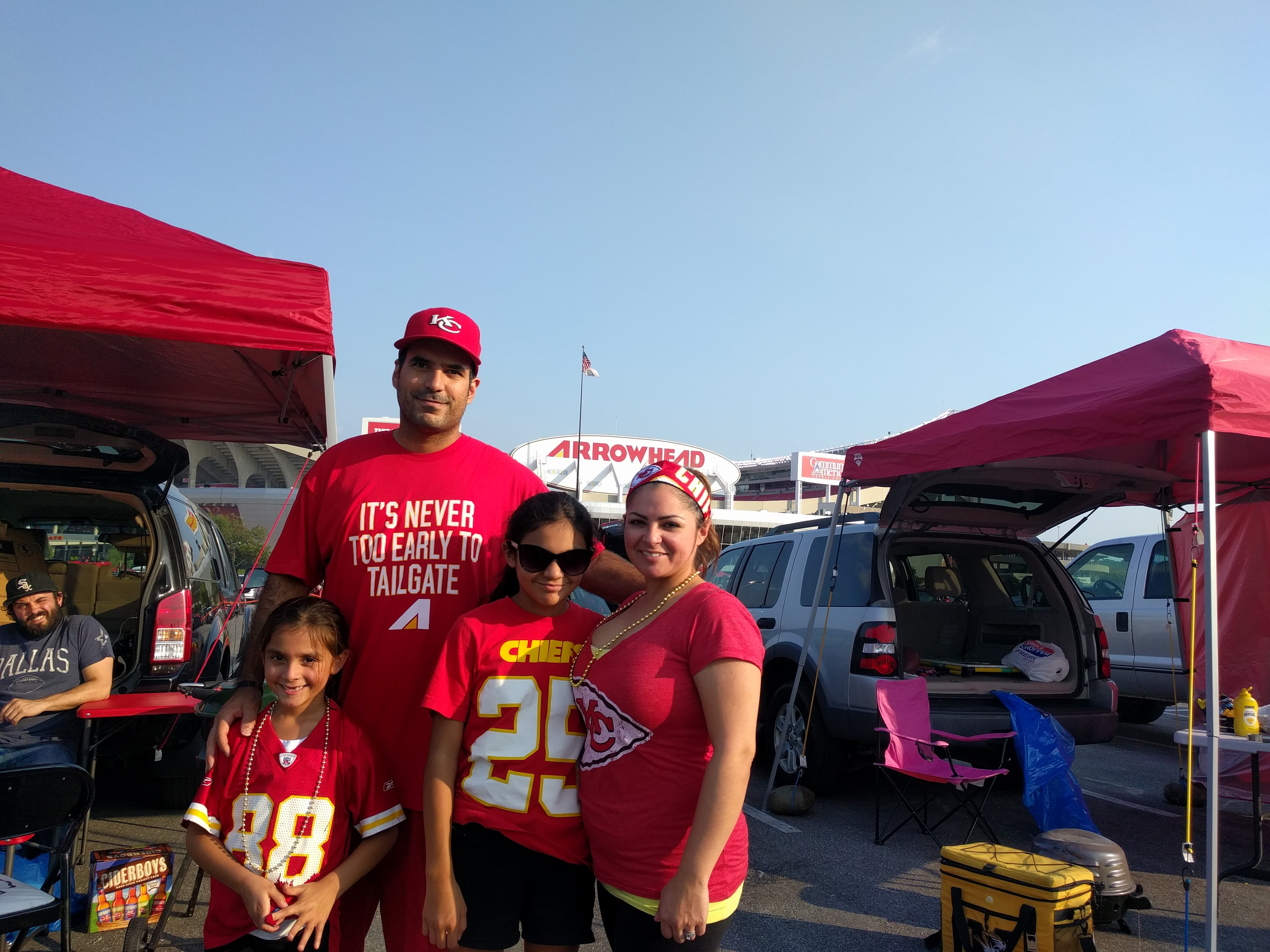Tailgating Profile – Arrowhead Tribe Tailgate Crew