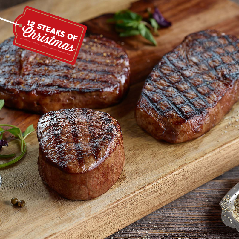 The 12 Steaks of Christmas (and all the merriment that goes with it)