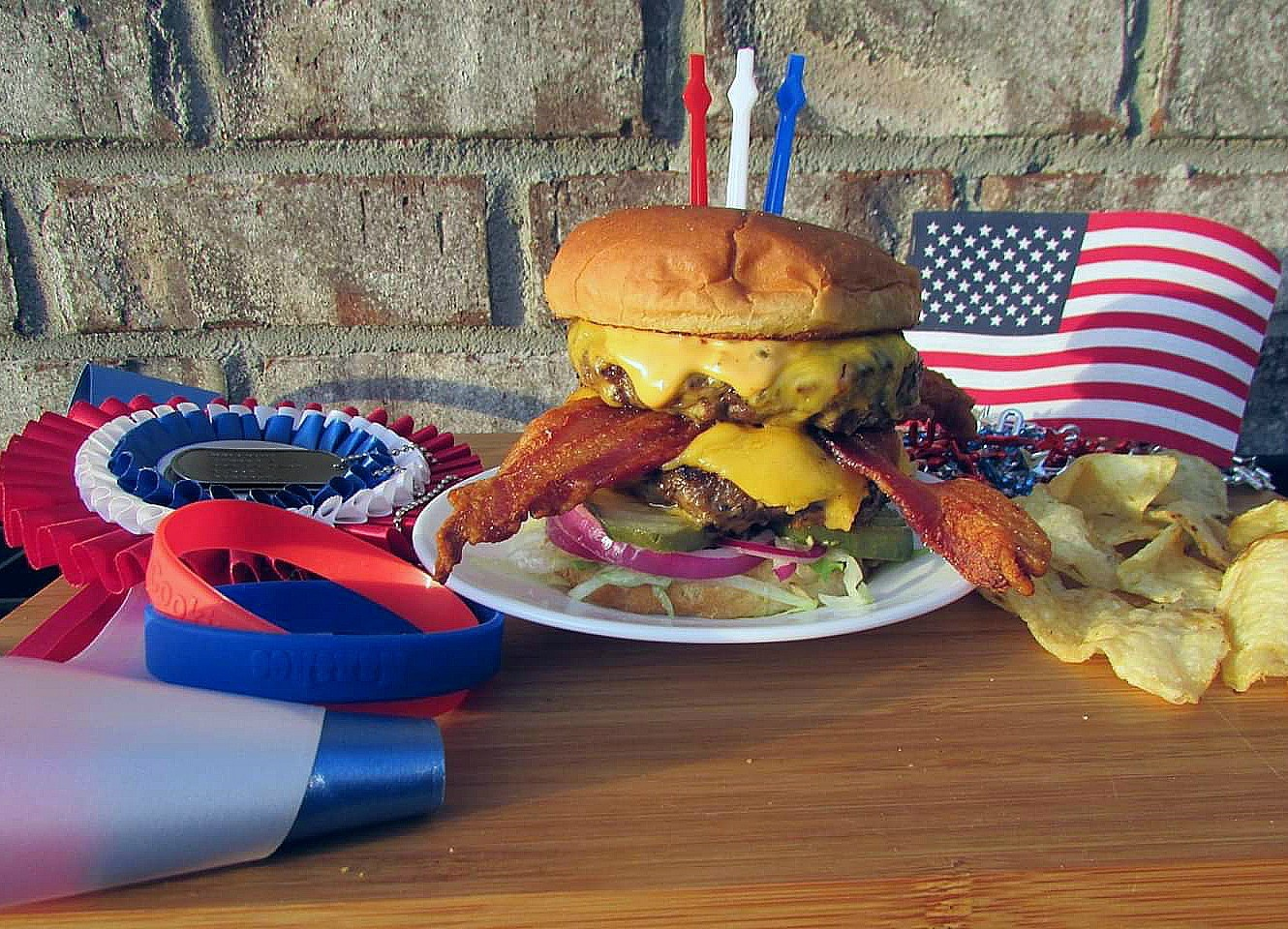 Five Patriotic Burger Recipes You'll Want to Celebrate