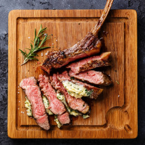 Cookout Ideas Ribeye with Butter