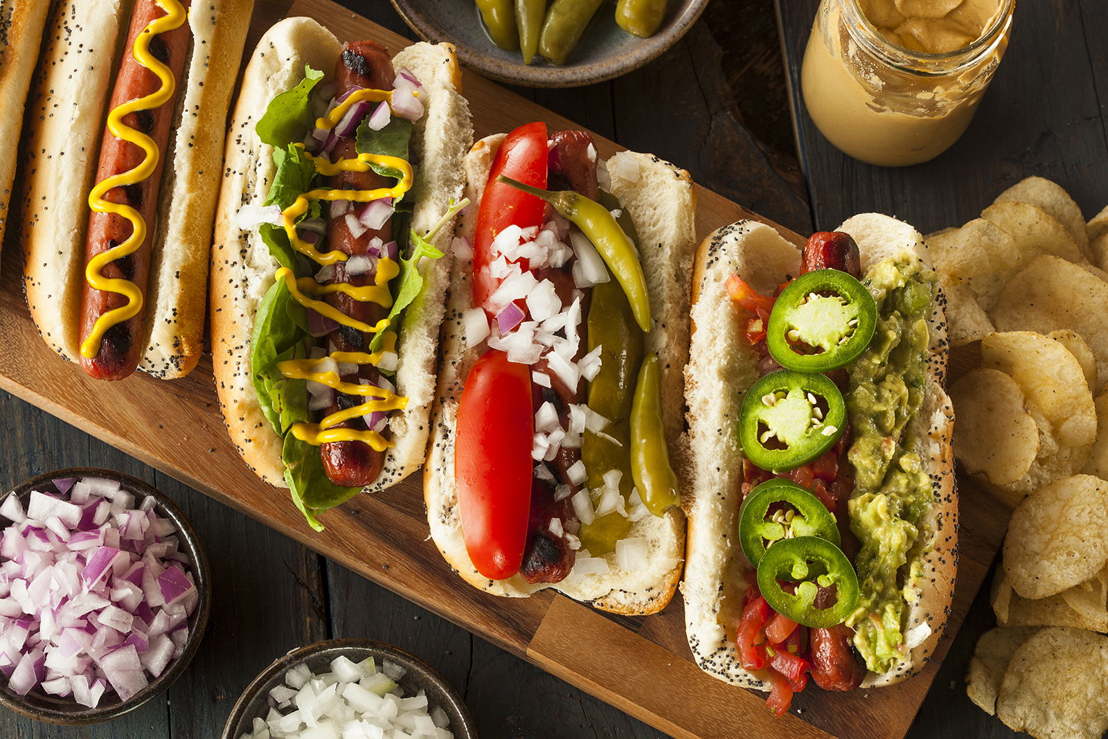 Everything You Need for the Best Hot Dog Bar Ever